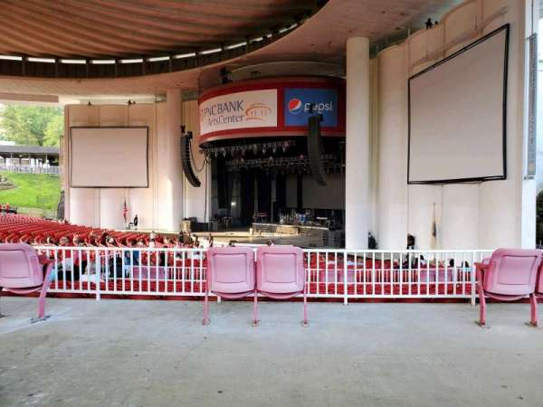 PNC Bank Arts Center, section: 301, row: A, seat: 54