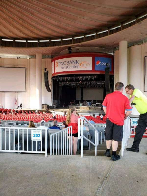 PNC Bank Arts Center, section: 301, row: A, seat: 4