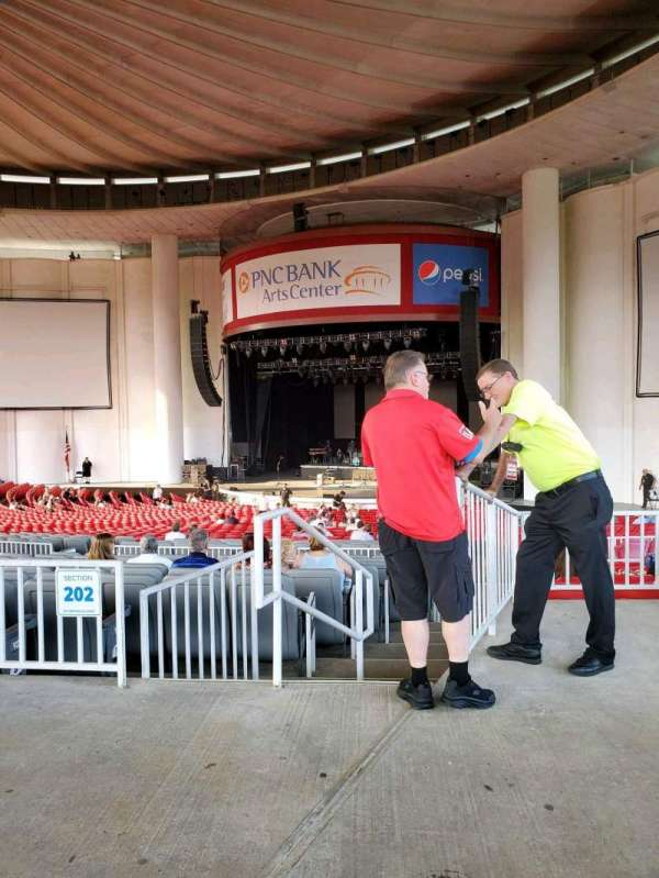 PNC Bank Arts Center, section: 301, row: A, seat: 6