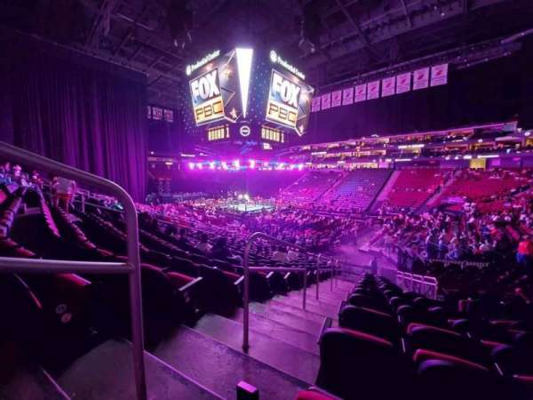 Prudential Center, section: 22, row: 17, seat: 21