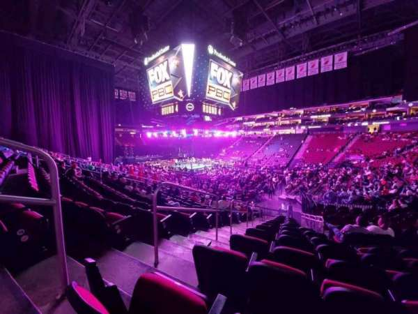 Prudential Center, section: 22, row: 17, seat: 20