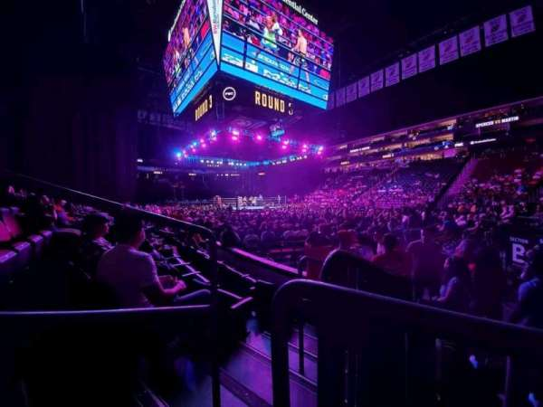 Prudential Center, section: 22, row: 4, seat: 8