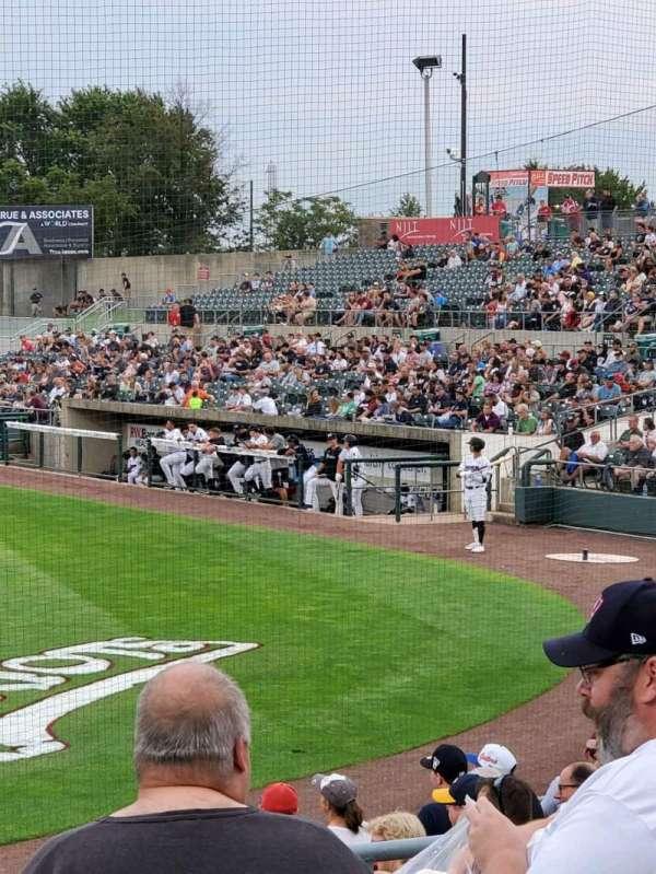 TD Bank Ballpark, section: 206, row: K, seat: 10