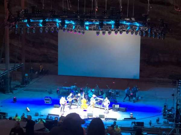 Red Rocks Amphitheatre, row: 31, seat: 54