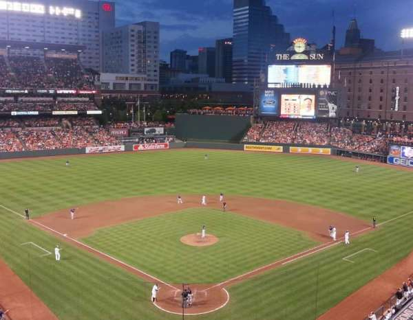 Oriole Park at Camden Yards, section: 336, row: 2, seat: 1