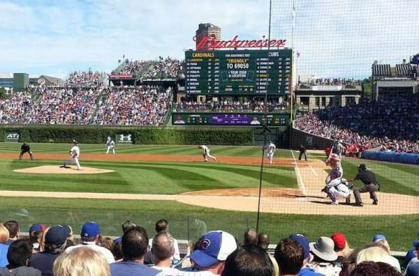 Wrigley Field, section: 16, row: 8, seat: 4