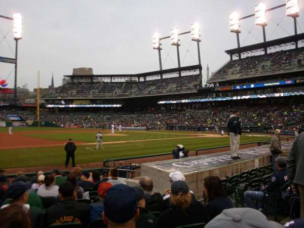 Comerica Park, section: 136, row: 13, seat: 5