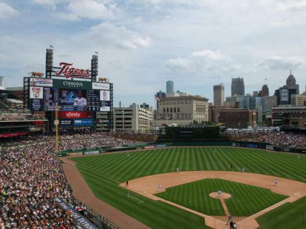 Comerica Park, section: 328, row: A, seat: 10