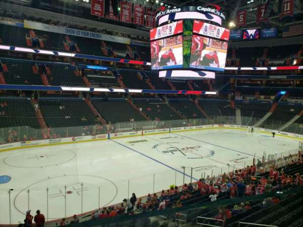 Capital One Arena, section: 227, row: A, seat: 5