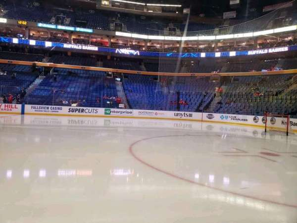 KeyBank Center, section: 104, row: 1, seat: 6