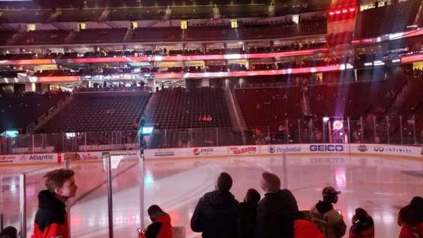 Prudential Center, section: 9, row: 7, seat: 6