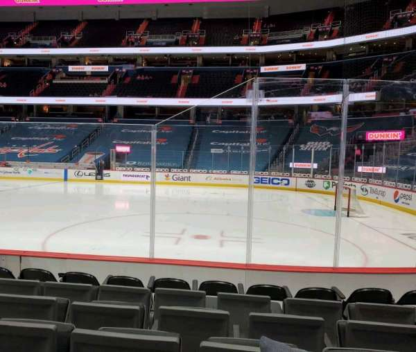 Capital One Arena, section: 113, row: F, seat: 6