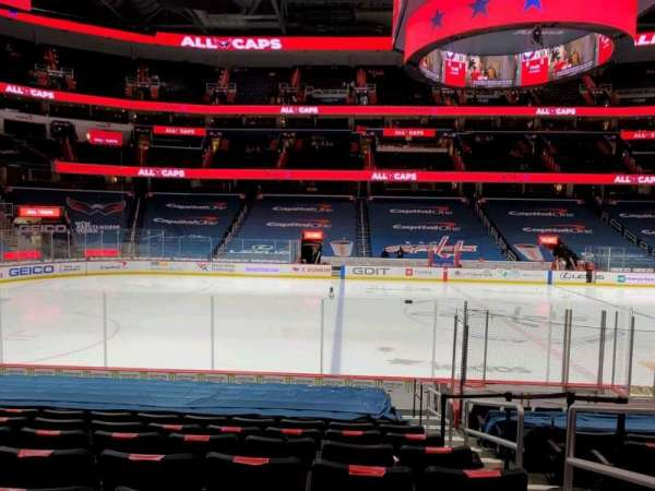 Capital One Arena, section: 110, row: N, seat: 21