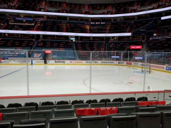 Capital One Arena, section: 112, row: G, seat: 16