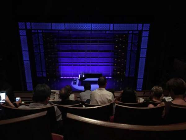 Stephen Sondheim Theatre, section: Mezzanine C, row: EE, seat: 112
