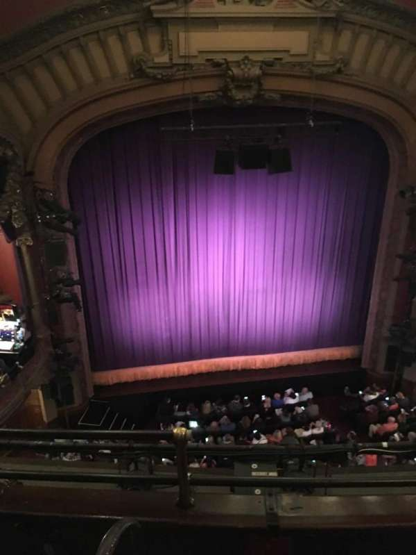 Lyceum Theatre (Broadway), section: Balc Center, row: C, seat: 112