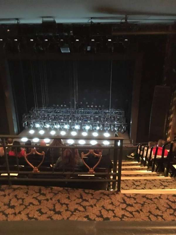 Lunt-Fontanne Theatre, section: Rear Mezzanine RC, row: A, seat: 112