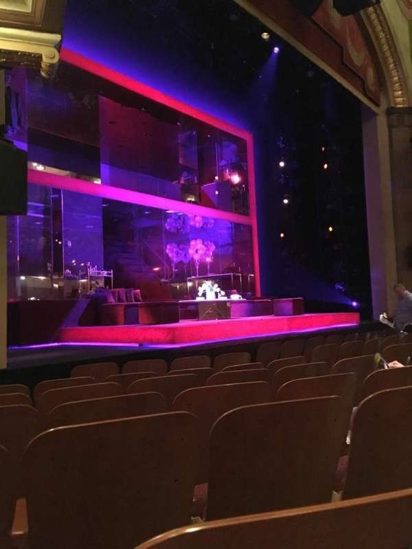 Booth Theatre, section: Orch Left, row: E, seat: 15