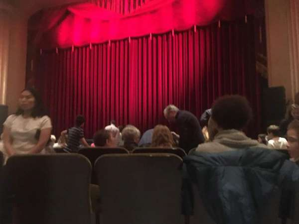 Flynn Center for the Performing Arts, section: Orch right, row: K, seat: 5