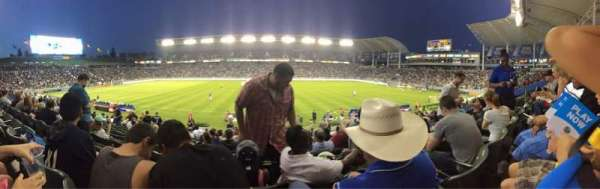 StubHub Center, section: 111, row: R, seat: 5