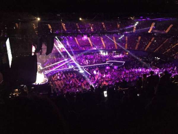 The Forum, section: 225, row: 18, seat: 7
