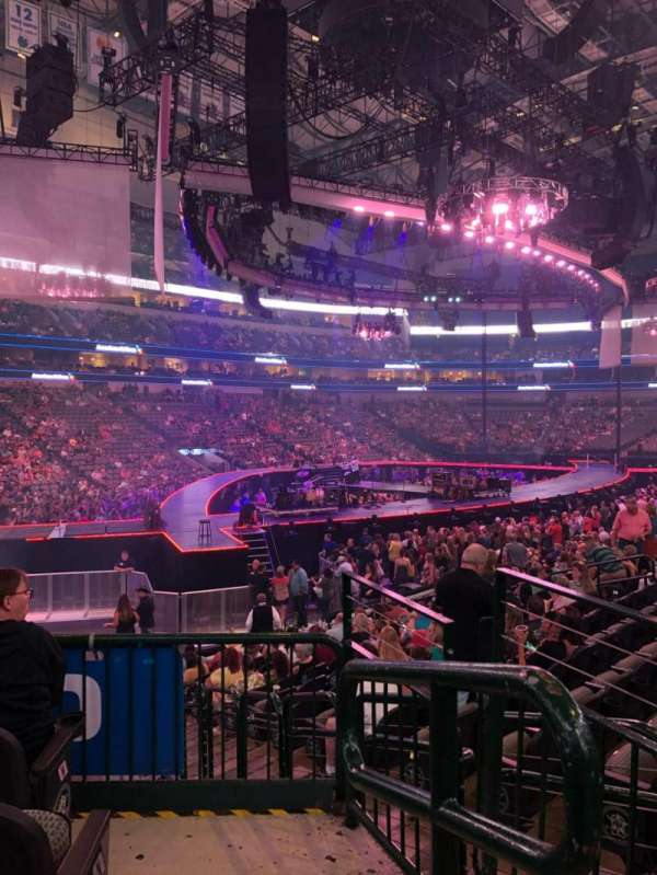 American Airlines Center, section: 110, row: P, seat: 3