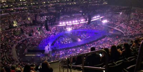 Staples Center, section: 304, row: 13, seat: 1