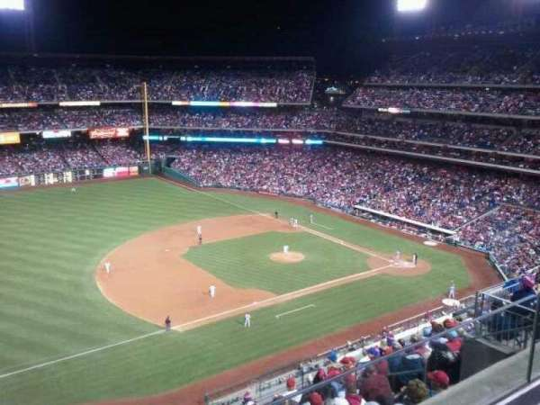 Citizens Bank Park, section: 429, row: 2, seat: 13