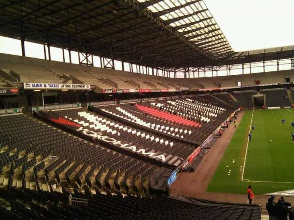 Stadium:MK, section: 34, row: DD, seat: 972
