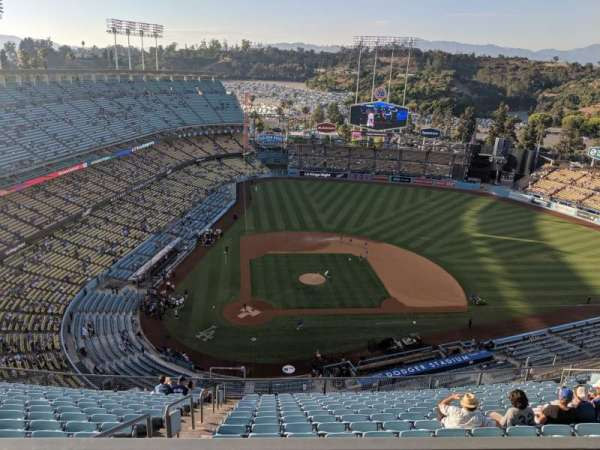 Dodger Stadium, section: 4TD, row: M, seat: 14