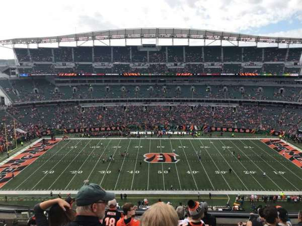 Paul Brown Stadium, section: 340, row: 8, seat: 17