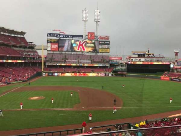 Great American Ball Park, section: 302, row: B, seat: 3