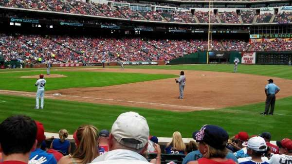 Globe Life Park in Arlington, section: 36, row: 8, seat: 4