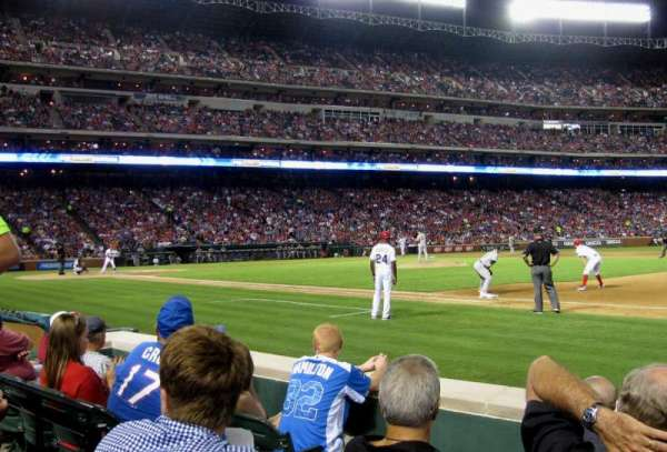 Globe Life Park in Arlington, section: 35, row: 2, seat: 4