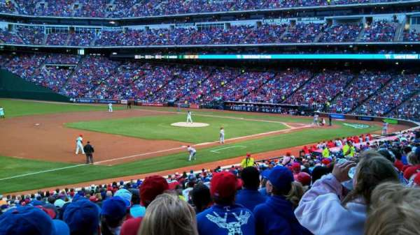 Globe Life Park in Arlington, section: 15, row: 28, seat: 12