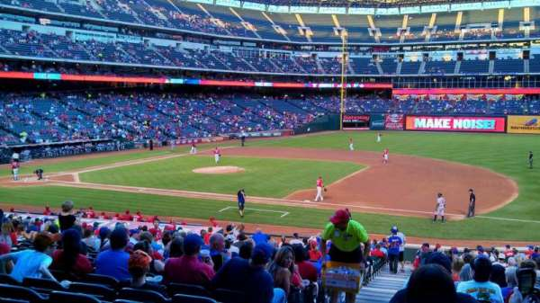 Globe Life Park in Arlington, section: 35, row: 28, seat: 1