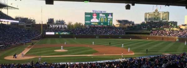 Wrigley Field, section: 222, row: 15, seat: 17