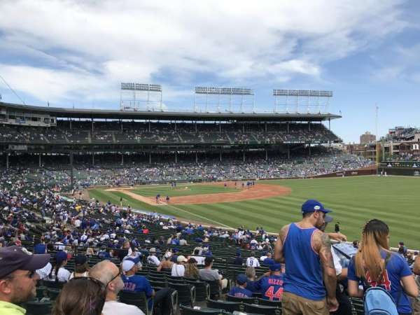 Wrigley Field, section: 240, row: 13, seat: 4