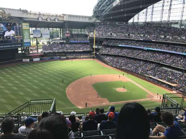 Miller Park, section: 431, row: 15, seat: 12