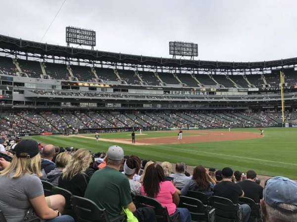 Guaranteed Rate Field, section: 116, row: 10, seat: 7