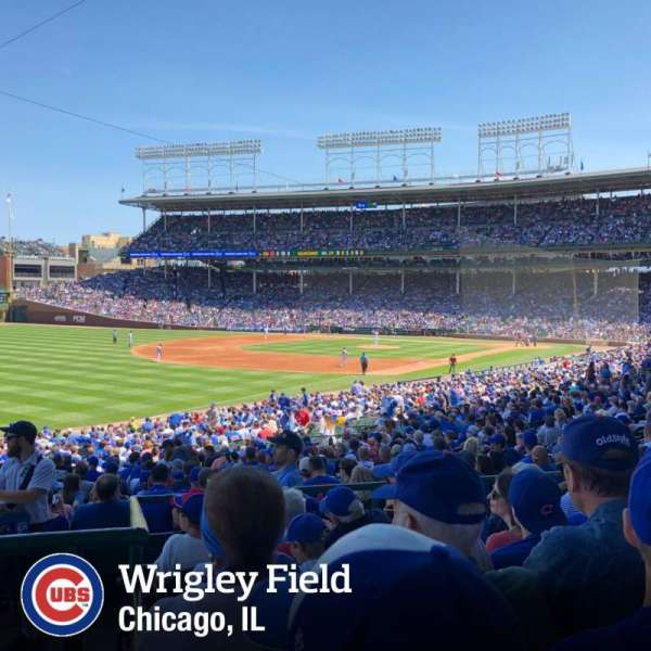Wrigley Field, section: 205, row: 6, seat: 7