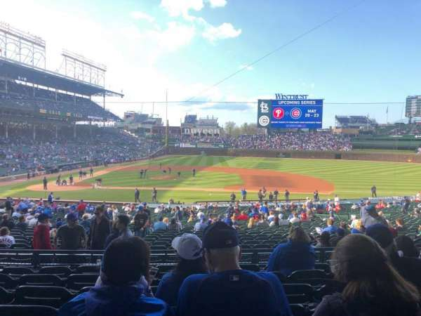 Wrigley Field, section: 223, row: 7, seat: 13