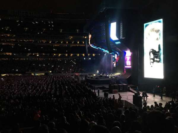 MetLife Stadium, section: 111C, row: 9, seat: 2
