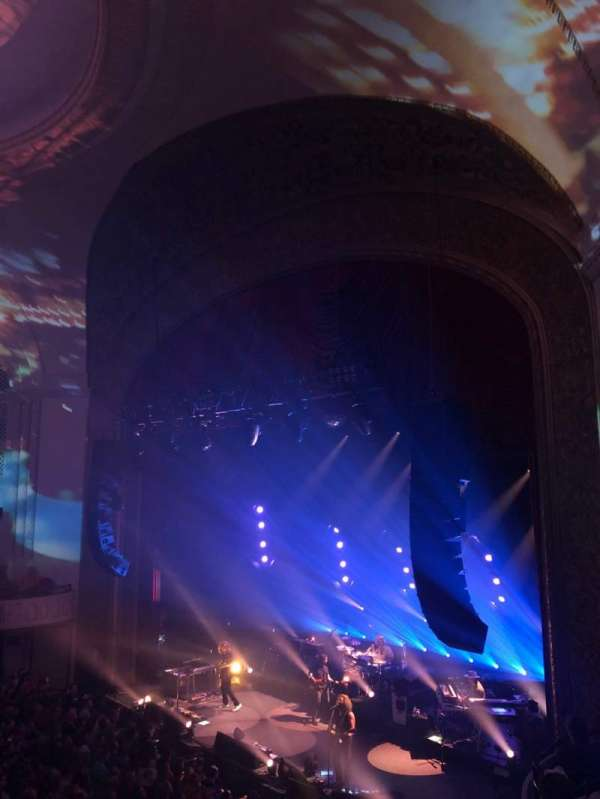 Capitol Theatre (Port Chester), section: Loge Right, row: BB, seat: 20