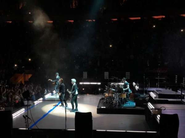 Madison Square Garden, section: 110, row: 6, seat: 2