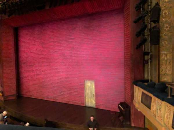 Shubert Theatre, section: Mezzanine R, row: A, seat: 14