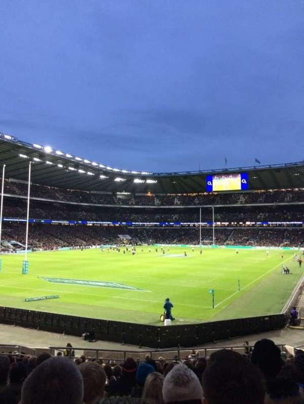 Twickenham Stadium, section: L31, row: 23, seat: 62