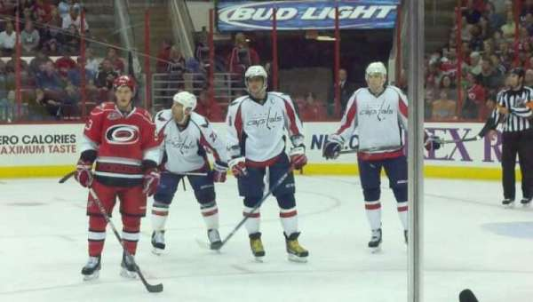 PNC Arena, section: 117, row: C, seat: 5