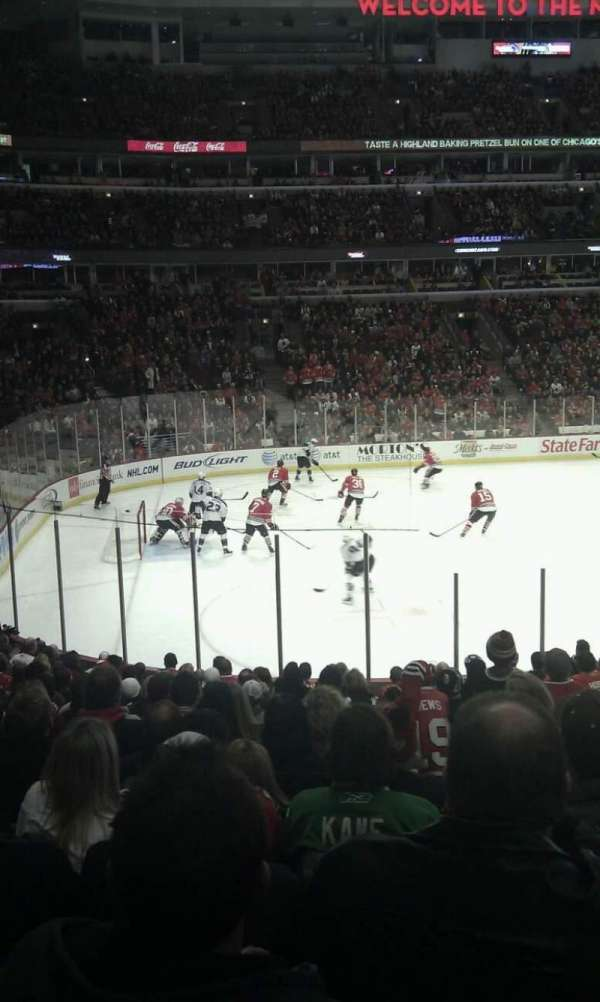 United Center, section: 114, row: 10, seat: 18
