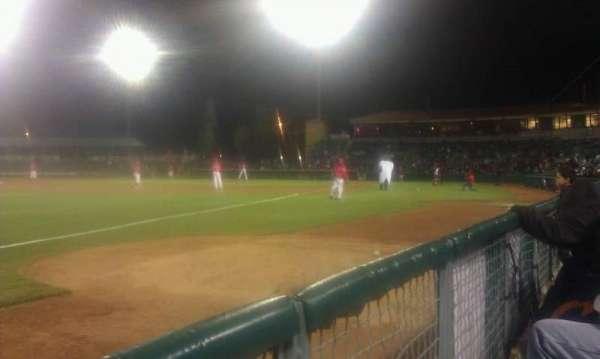 San Manuel Stadium, section: 123, row: aa, seat: 3